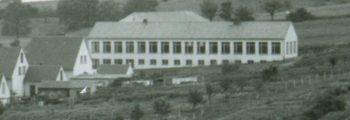 Schulneubau auf Wegener `s Rott 1955