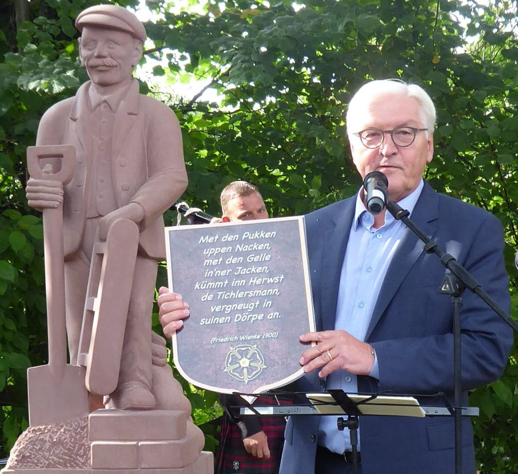 Brakelsiek erhält ein Ziegler-Denkmal